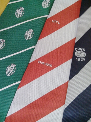bespoke club ties london